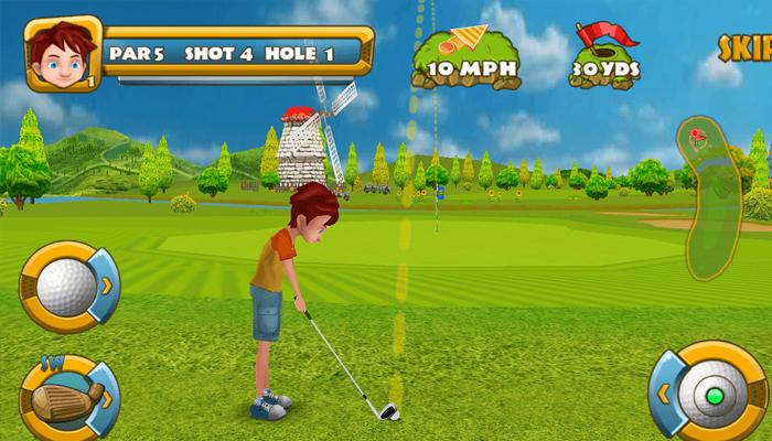 Game đánh golf online - Golf Championship