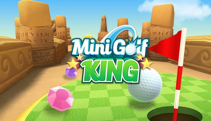 Game golf vui nhộn - Mini Golf King